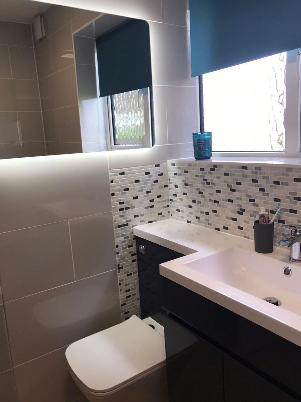 cNew Bathroom Fit Ground Floor Flat in Highcliffe - After - Emerald Builders Ltd Bournemouth Poole Christchurch Dorset